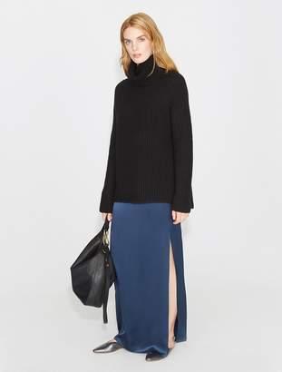 Halston Wool Cashmere Blend Turtlneck Sweater