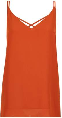 Dorothy Perkins Womens Rust Camisole Top