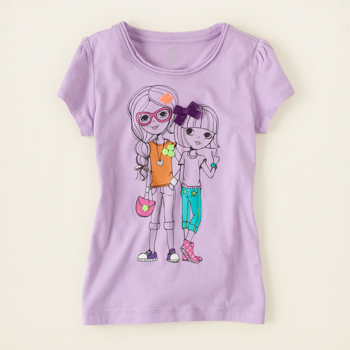 Children's Place Color pop graphic tee