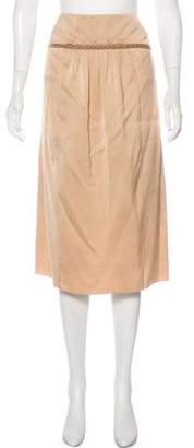 Stella McCartney Woven Knee-Length Skirt