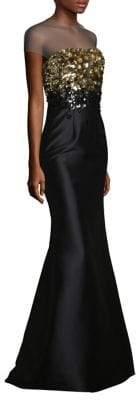 Sachin + Babi Beekman Embellished Gown