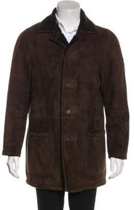 Polo Ralph Lauren Shearling Hooded Coat