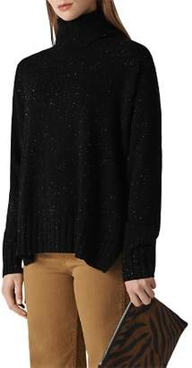 Whistles Turtleneck Cashmere Sweater