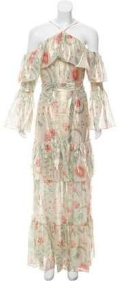 Rachel Zoe Silk Cold-Shoulder Dress w/ Tags