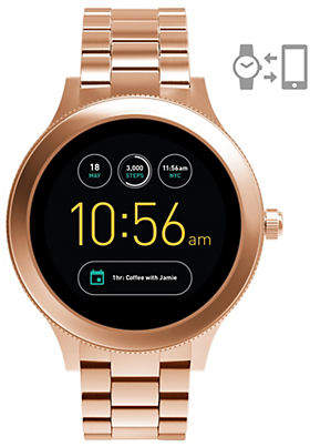 Fossil Gen 3 Smartwatch - Q Venture Rose Gold-Tone Stainless Steel