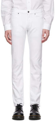 HUGO White Slim-Fit Jeans