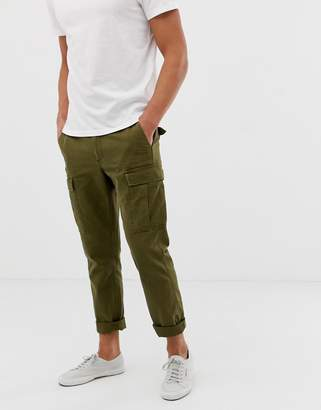 J.Crew Mercantile straight fit cargo pants in green