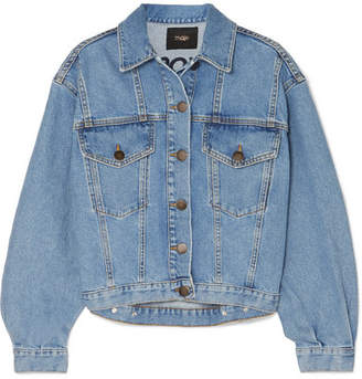 Maje Denim Jacket - Light denim
