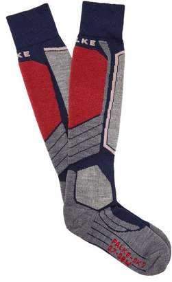 Falke Sk2 Performance Knit Ski Socks - Womens - Dark Navy