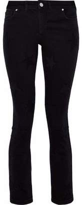 Zoe Karssen Piper Embroidered Mid-Rise Skinny Jeans