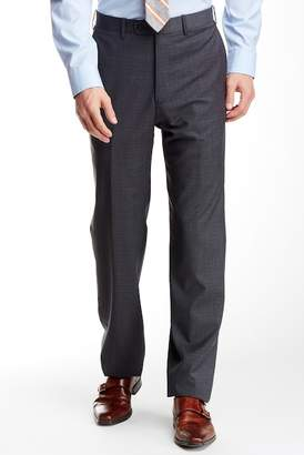 JB Britches Torino Flat Front Wool Trousers