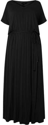 Dorothy Perkins Womens **DP Curve Black Jersey Maxi Dress