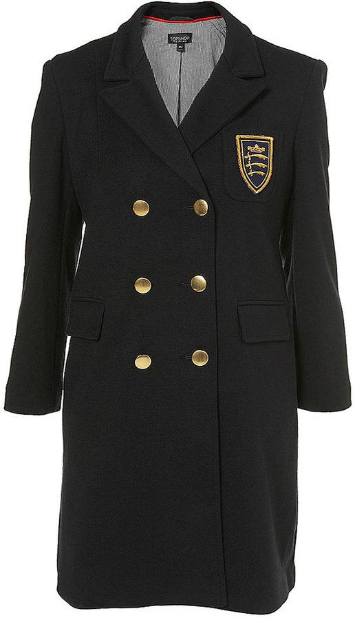 Jersey School Girl Style Coat