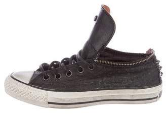 John Varvatos Converse by Spiked Low-Top Sneakers