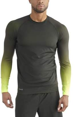 Russell Men's Long Sleeve Printed Compression Top