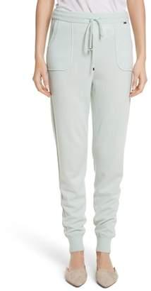 St. John Cashmere Jersey Sweatpants