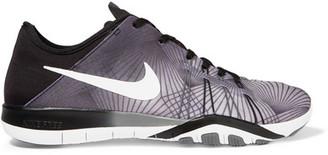 Nike - Free Tr 6 Neoprene Sneakers - Black $110 thestylecure.com