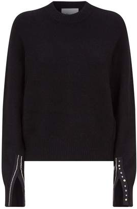 3.1 Phillip Lim Crystal Embellished Sweater