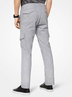 Michael Kors Melange Cargo Pants
