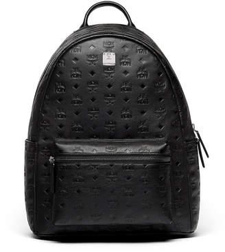 MCM Ottomar Men's Logo-Embossed Leather Backpack