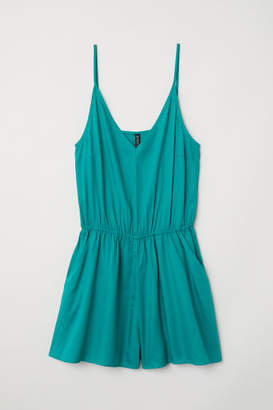 H&M Short Jumpsuit - Green