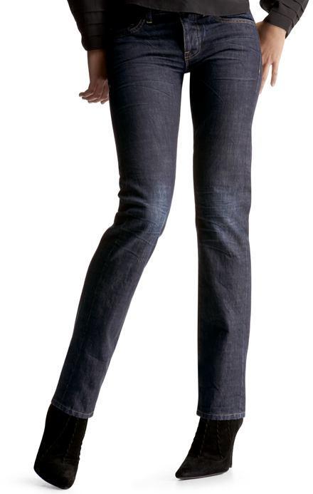 Skinny jeans (resin rinse)