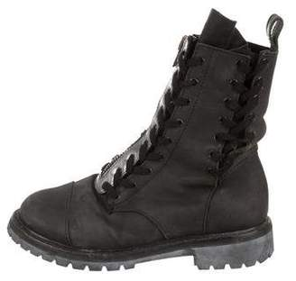 Acne Studios Leather Combat Boots