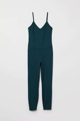 H&M Yoga Jumpsuit - Turquoise