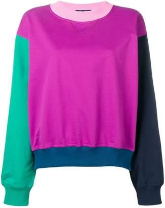 Sofie D'hoore colour block sweatshirt