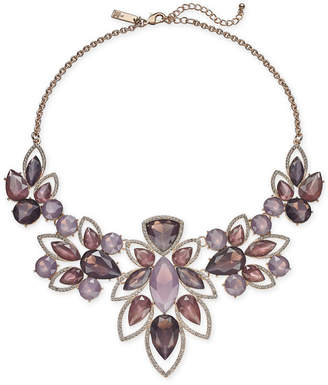 "INC International Concepts I.n.c. Crystal & Stone Statement Necklace, 16"" + 3"" Extender"