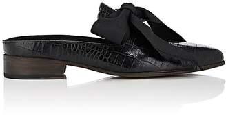 Esquivel Grace Embossed Leather Mules Eib03BMW