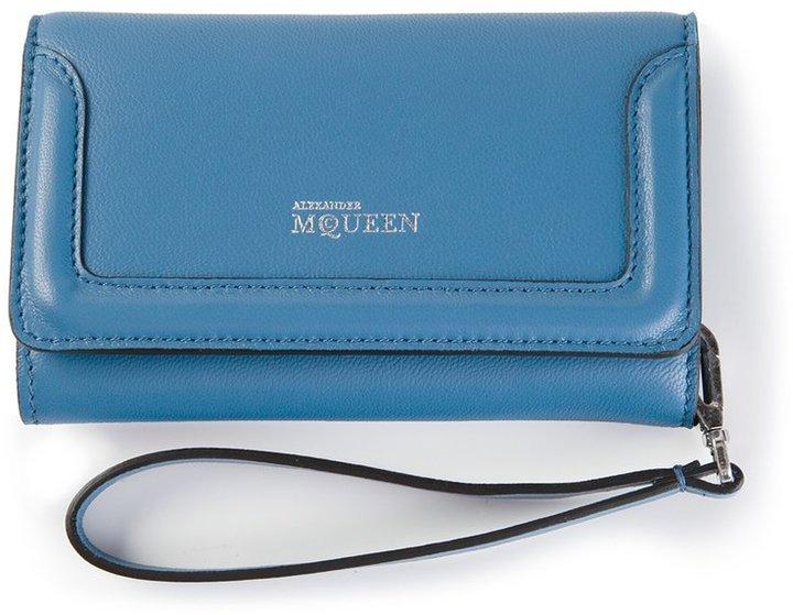 Alexander McQueenAlexander McQueen wrist strap wallet