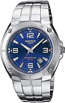 Edifice Casio EF-126D-2AVEF Men's Analog Quartz Watch with Date Indicator and Steel Bracelet