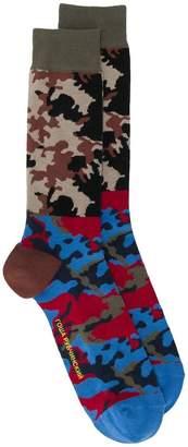 Gosha Rubchinskiy camouflage socks