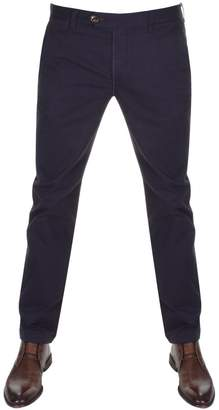 Ted Baker Procor Slim Fit Chino Trousers Navy