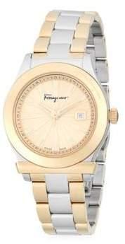 Salvatore Ferragamo Classic Stainless Steel Bracelet Watch