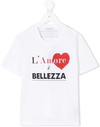 Dolce & Gabbana L'Amore print T-shirt