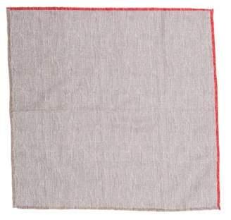 Brunello Cucinelli Linen-Blend Pocket Square