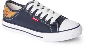 Levi's Toddler/Kids Boys) Navy Stan Buck Canvas Low-Top Sneakers