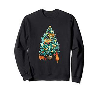 Cat Christmas Tree Sweater - Fun Gift for the Holidays