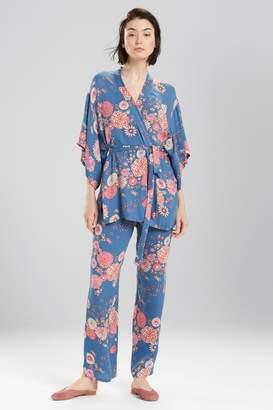Josie Avant Garden Robe Blue Ivory