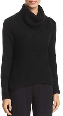 Eileen Fisher Petites Cashmere Cowl-Neck Crop Sweater