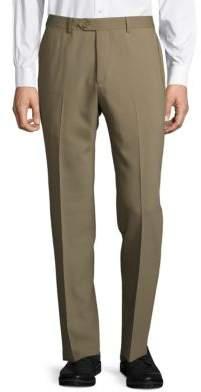 Santorelli Solid Tapered-Leg Pants