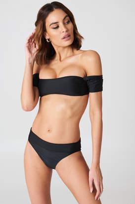 boohoo Salamanca Bardot Bandeau Bikini Set