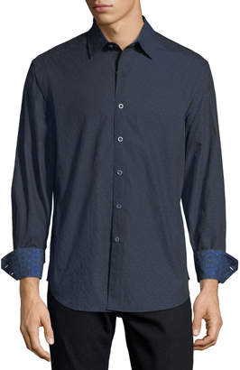 Robert Graham Hamblin Classic-Fit Jacquard Sport Shirt