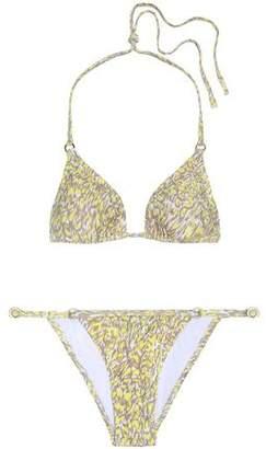 Melissa Odabash Brazil Printed Halterneck Bikini