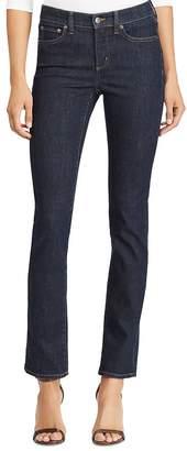 Ralph Lauren Premier Straight-Leg Jeans in Rinse Wash