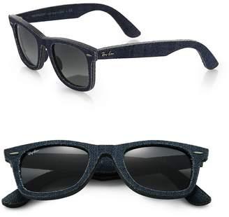 Ray-Ban Men's 50MM Denim Wayfarer Sunglasses