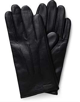 HUGO BOSS Hainz Basic Leather Gloves