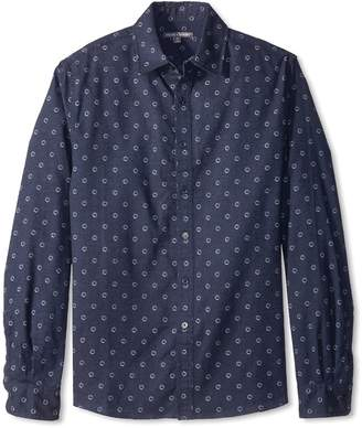 Threads 4 Thought Men's Circle Print Woven Shirt